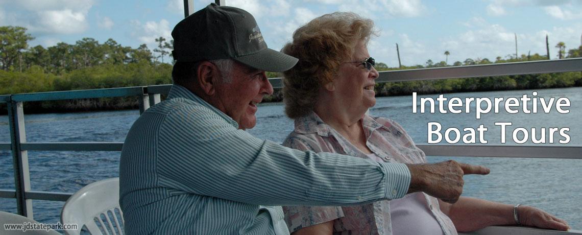 Interpretive Boat Tours | Jonathan Dickinson State Park, Hobe Sound, FL